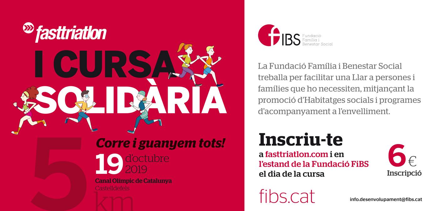 Cursa Solidaria FiBS Fasttriatlon